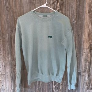 JOHN GALT/ PACSUN GREEN PULL OVER